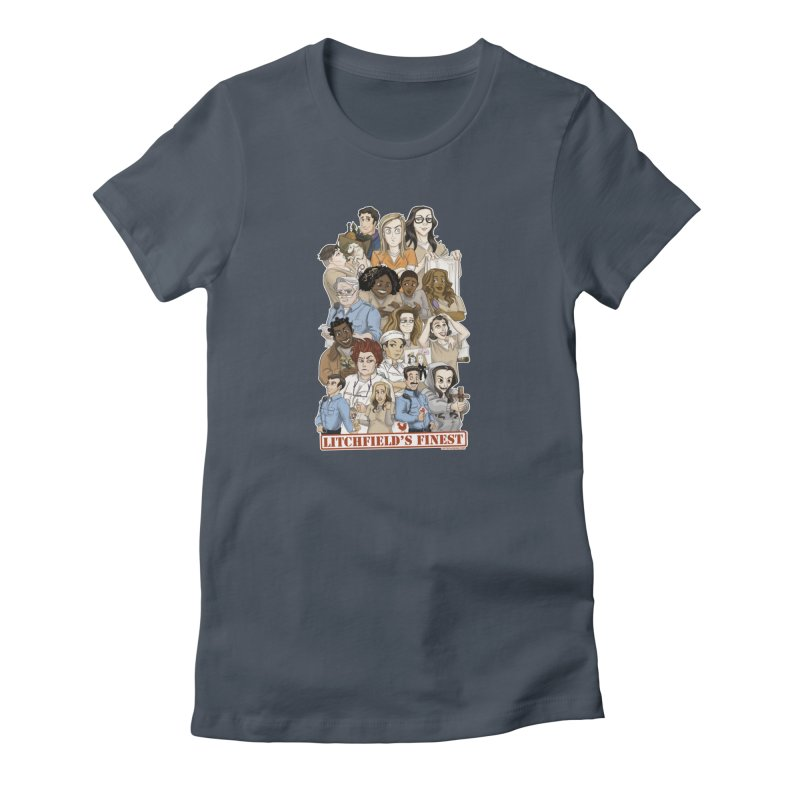 Litchfield's Finest Tee Women's T-Shirt by Steph Dere's Artist Shop