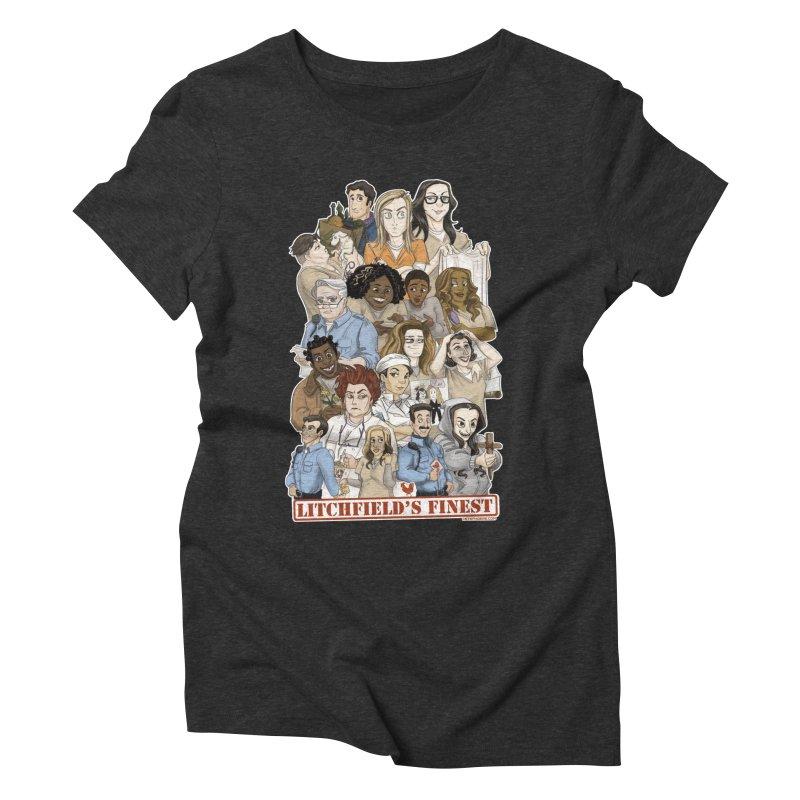 Litchfield's Finest Tee Women's Triblend T-Shirt by Steph Dere's Artist Shop