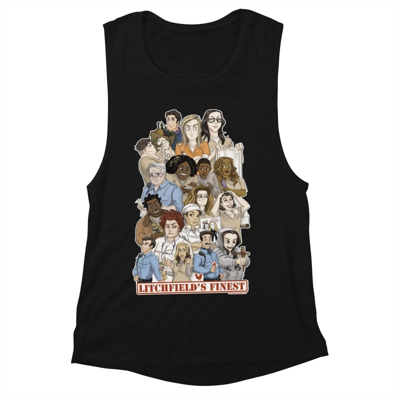 Litchfield's Finest Tee Women's Tank by Steph Dere's Artist Shop