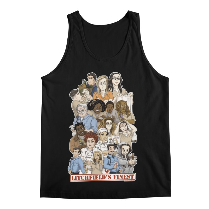 Litchfield's Finest Tee Men's Regular Tank by Steph Dere's Artist Shop