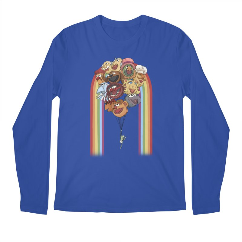 Rainbow Connection Men's Regular Longsleeve T-Shirt by Steph Dere's Artist Shop