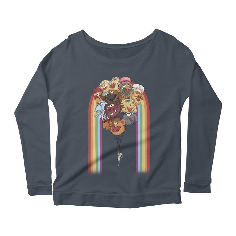 Rainbow Connection Women's Longsleeve T-Shirt by Steph Dere's Artist Shop