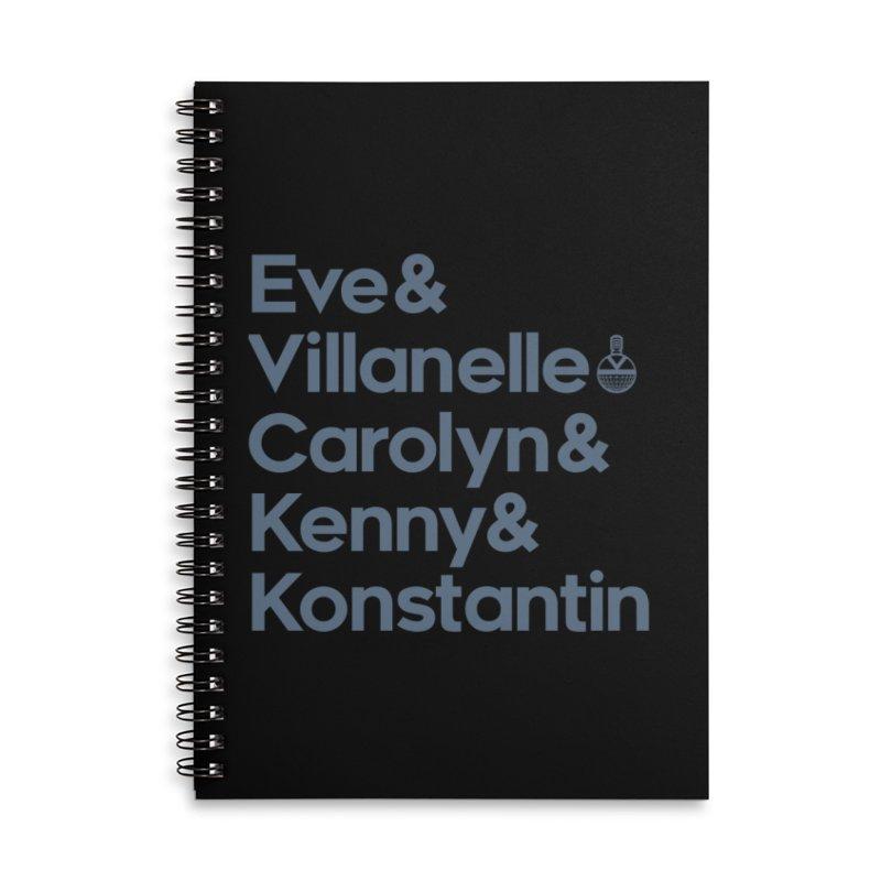 Pyscho Fan Accessories Notebook by Steph Dere's Artist Shop
