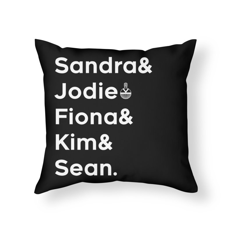 Closeted Psycho Fan Home Throw Pillow by Steph Dere's Artist Shop
