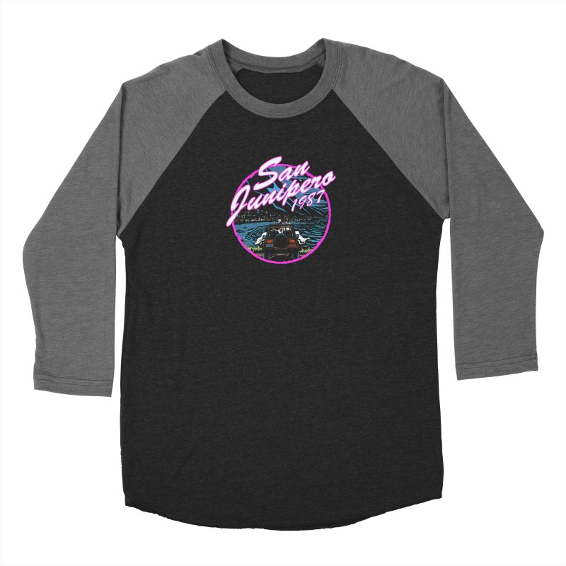 San Junipero in Pink Women's Longsleeve T-Shirt by Steph Dere's Artist Shop
