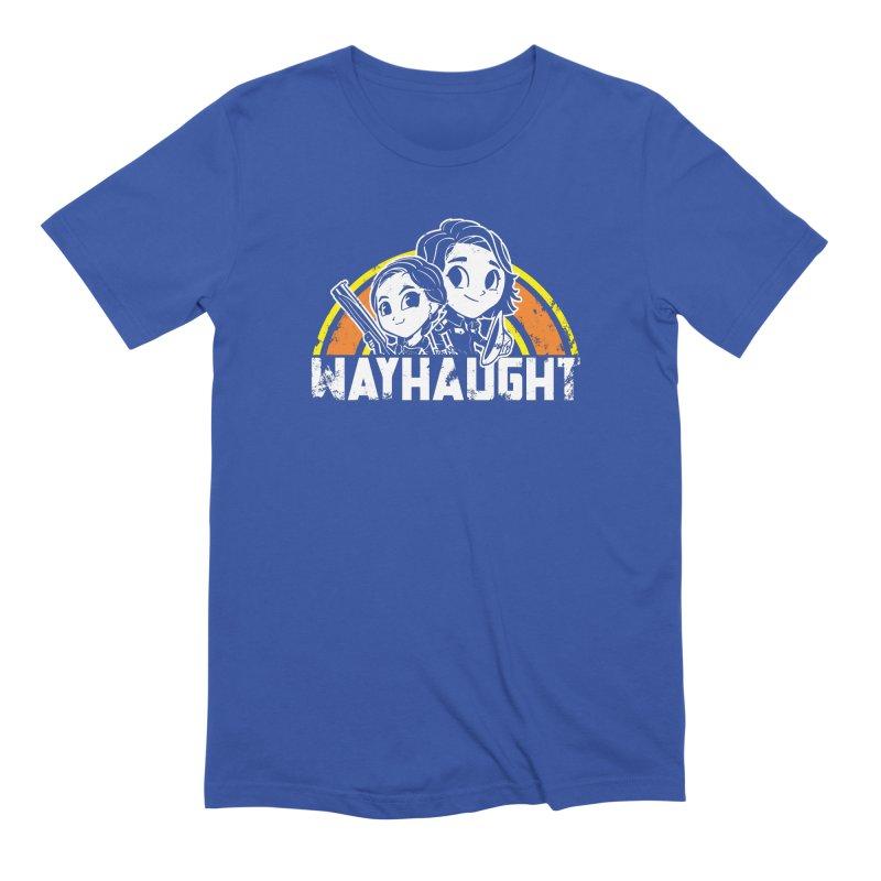 Wayhaught Rainbow Men's T-Shirt by Steph Dere's Artist Shop