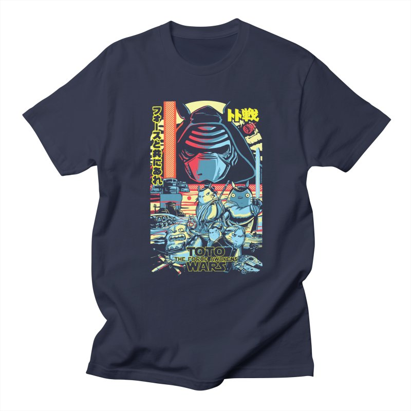 Toto Wars Force Awakens Women's Regular Unisex T-Shirt by Steph Dere's Artist Shop