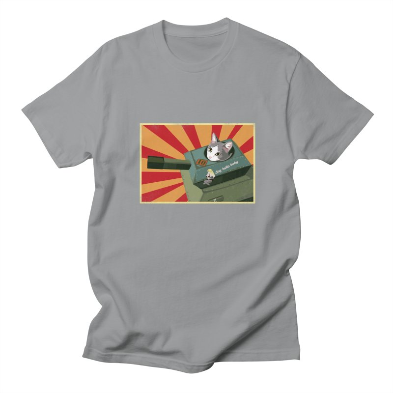 Timmy Tank Men's Regular T-Shirt by Steph Dere's Artist Shop