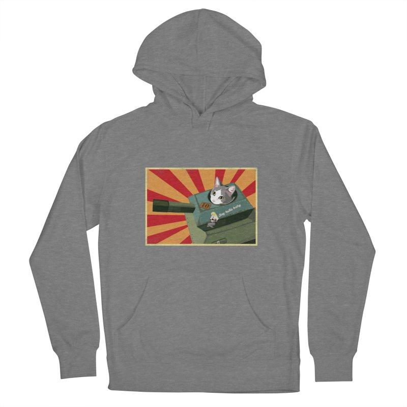 Timmy Tank Women's French Terry Pullover Hoody by Steph Dere's Artist Shop