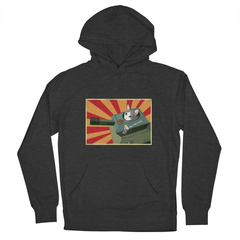 Timmy Tank Men's French Terry Pullover Hoody by stephdere's Artist Shop