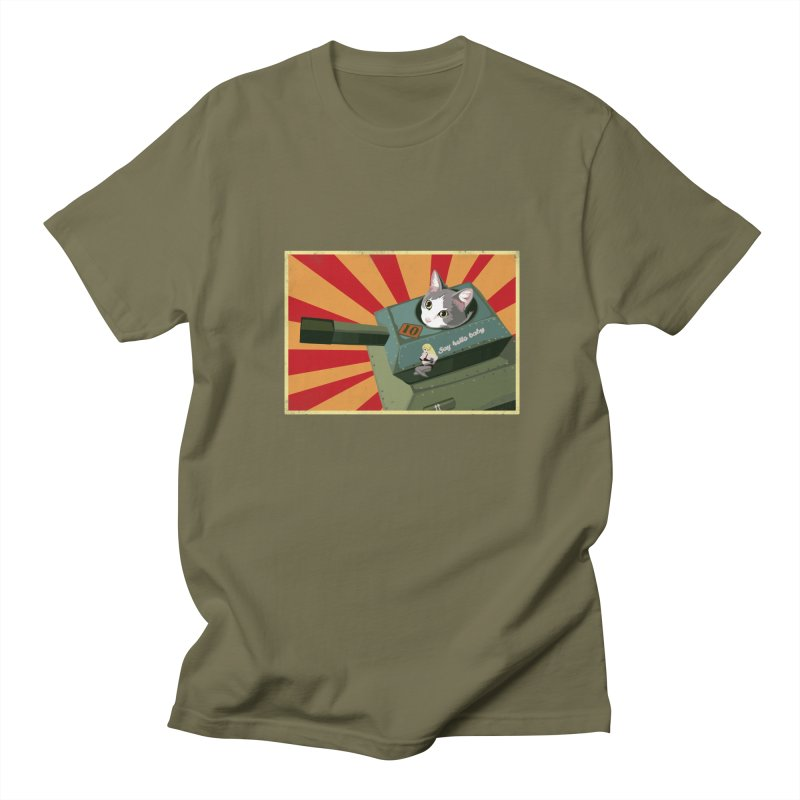 Timmy Tank Men's Regular T-Shirt by Steph Dere's Artist Shop