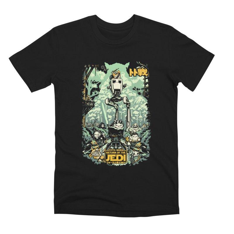 Totowars Jedi Men's Premium T-Shirt by Steph Dere's Artist Shop
