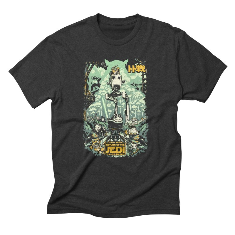 Totowars Jedi Men's Triblend T-Shirt by Steph Dere's Artist Shop