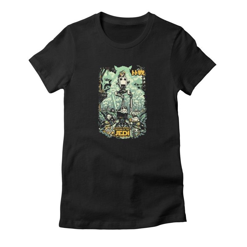 Totowars Jedi Women's T-Shirt by Steph Dere's Artist Shop