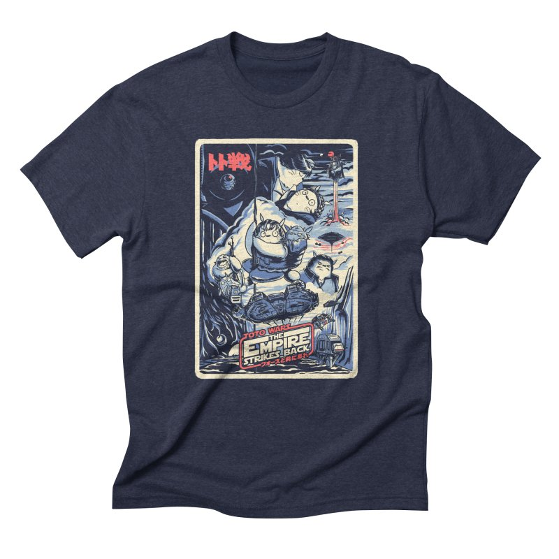Totowars Empires Men's Triblend T-Shirt by Steph Dere's Artist Shop