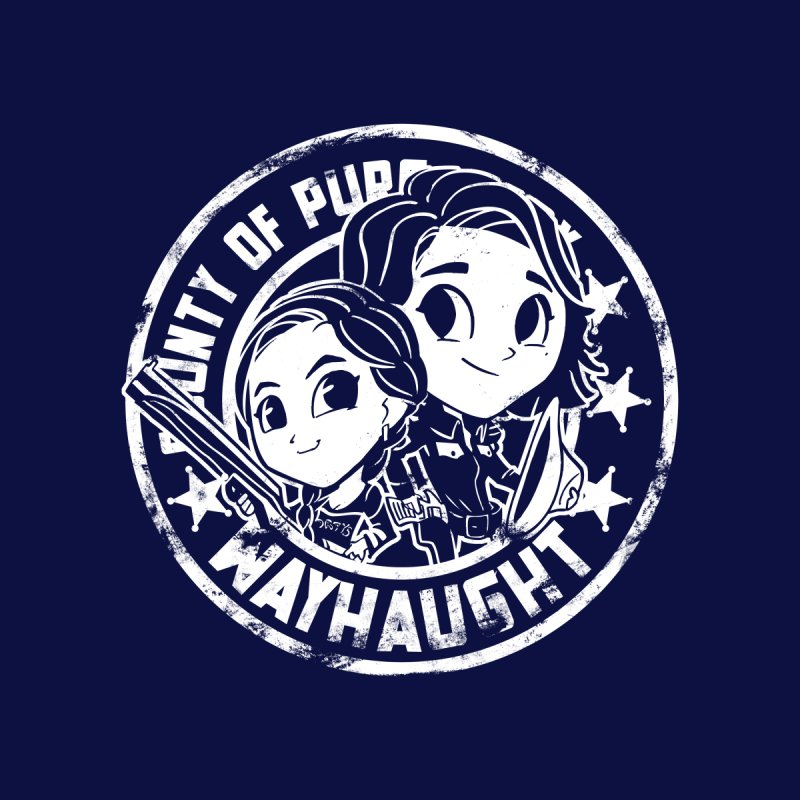 WAYHAUGHT CUTIES Women's Longsleeve T-Shirt by Steph Dere's Artist Shop