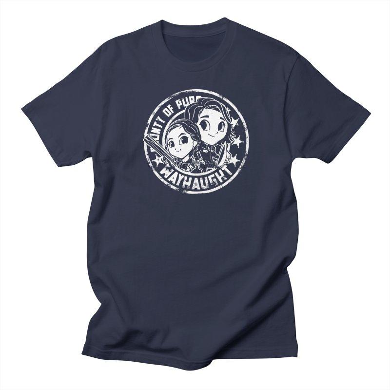 WAYHAUGHT CUTIES Women's Regular Unisex T-Shirt by Steph Dere's Artist Shop