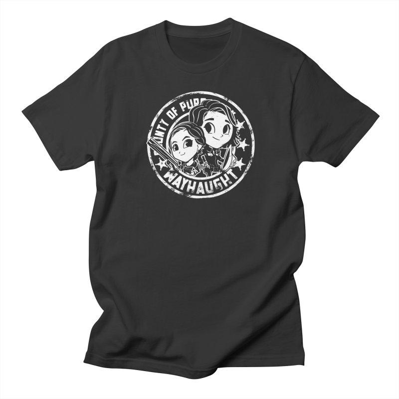 WAYHAUGHT CUTIES Men's Regular T-Shirt by Steph Dere's Artist Shop