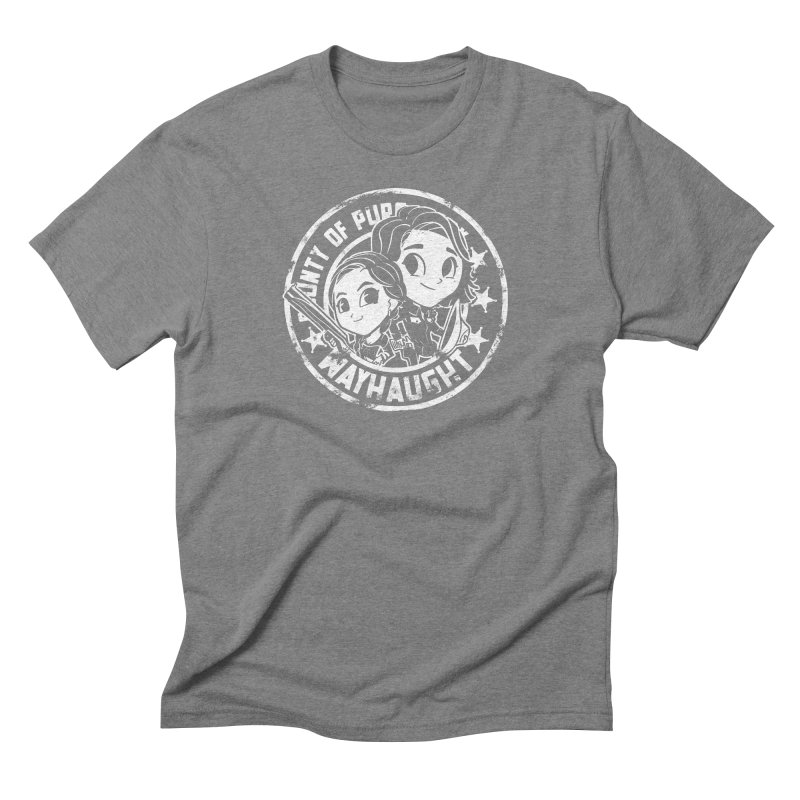 WAYHAUGHT CUTIES Men's Triblend T-Shirt by Steph Dere's Artist Shop