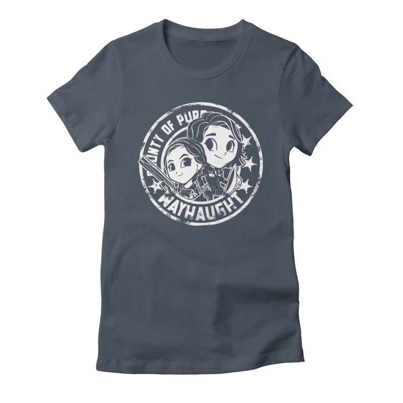 WAYHAUGHT CUTIES Women's T-Shirt by Steph Dere's Artist Shop