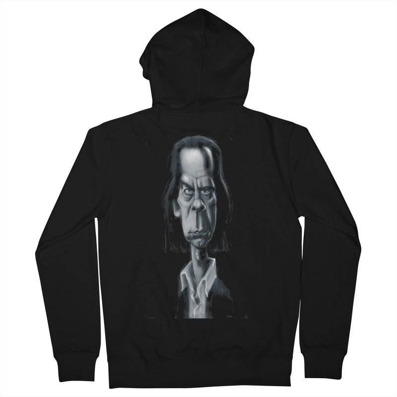 Nick Cave Women's Zip-Up Hoody by stephencase's Artist Shop