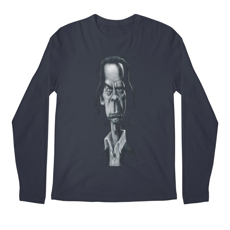 Nick Cave Men's Longsleeve T-Shirt by stephencase's Artist Shop