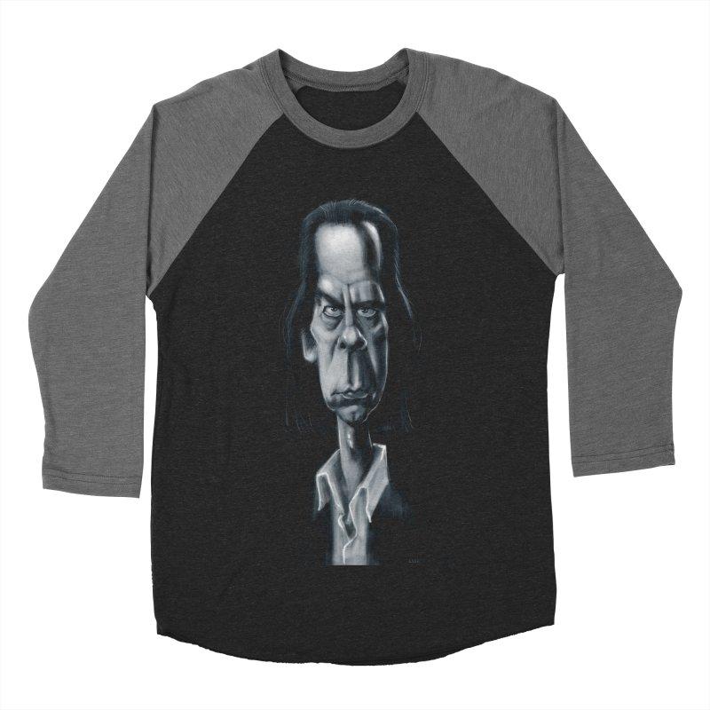 Nick Cave Women's Baseball Triblend T-Shirt by stephencase's Artist Shop