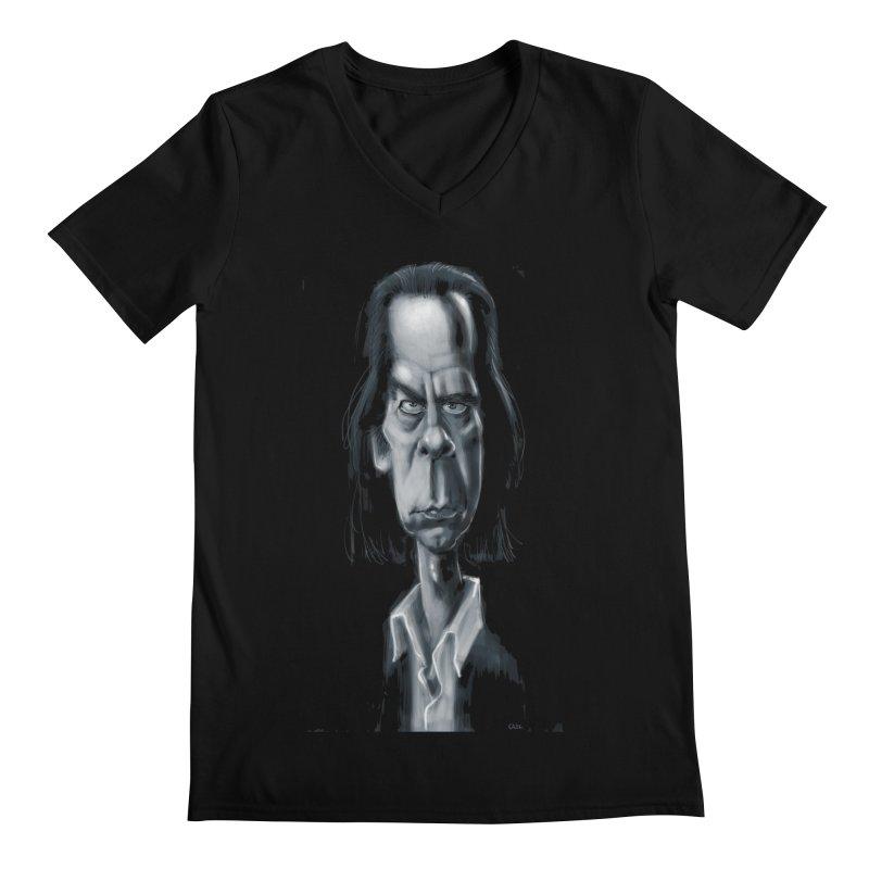 Nick Cave Men's V-Neck by stephencase's Artist Shop