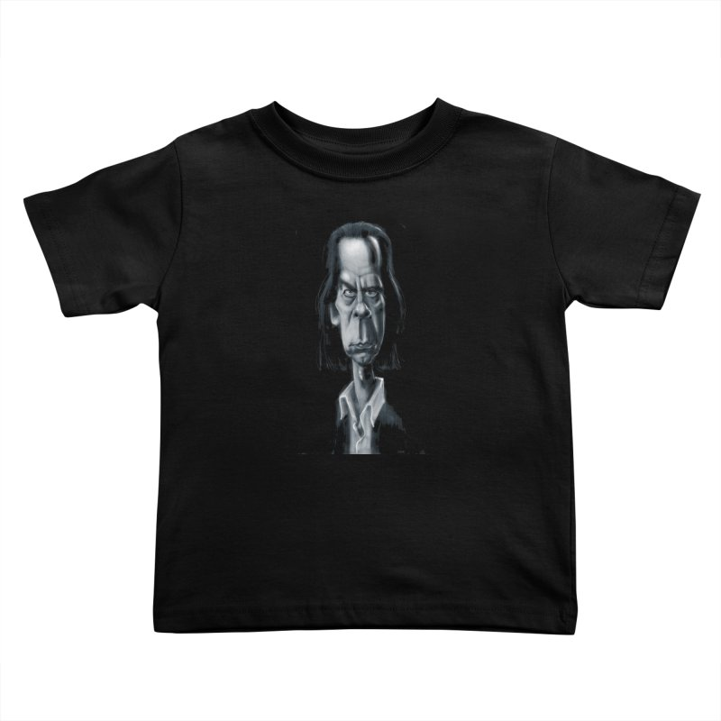 Nick Cave Kids Toddler T-Shirt by stephencase's Artist Shop
