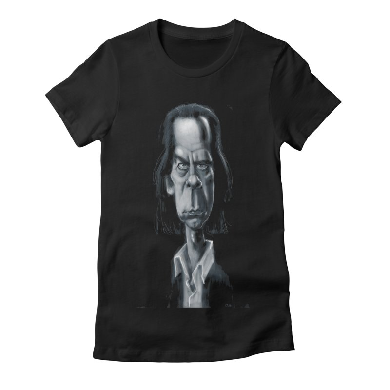 Nick Cave Women's Fitted T-Shirt by stephencase's Artist Shop