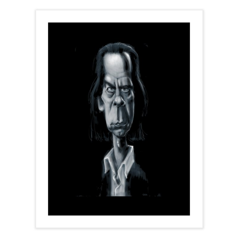 Nick Cave Home Fine Art Print by stephencase's Artist Shop