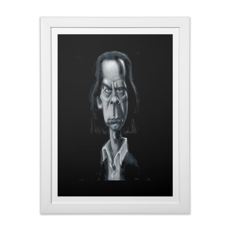 Nick Cave Home Framed Fine Art Print by stephencase's Artist Shop