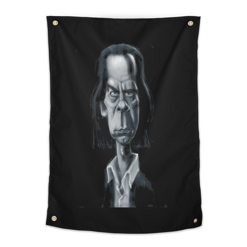 Nick Cave Home Tapestry by stephencase's Artist Shop