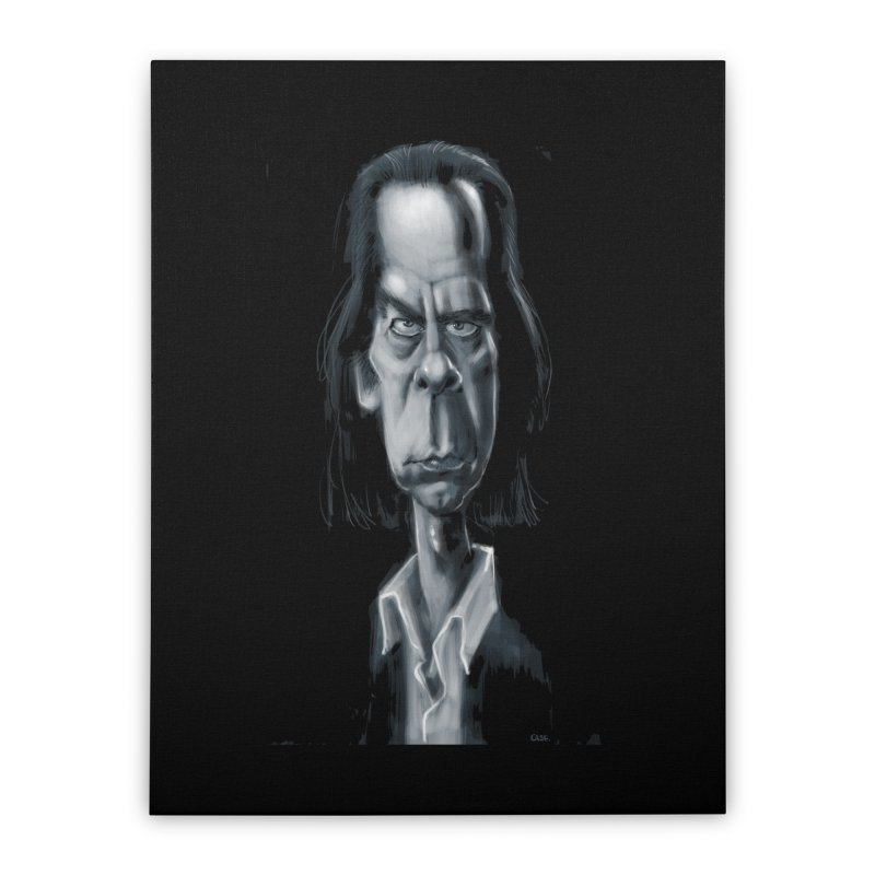 Nick Cave Home Stretched Canvas by stephencase's Artist Shop