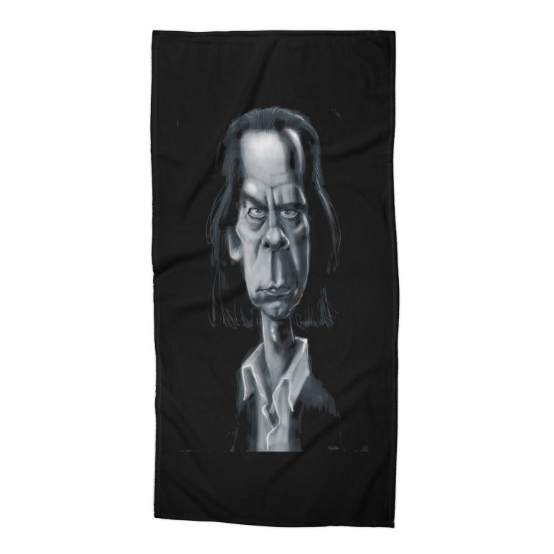 Nick Cave Accessories Beach Towel by stephencase's Artist Shop