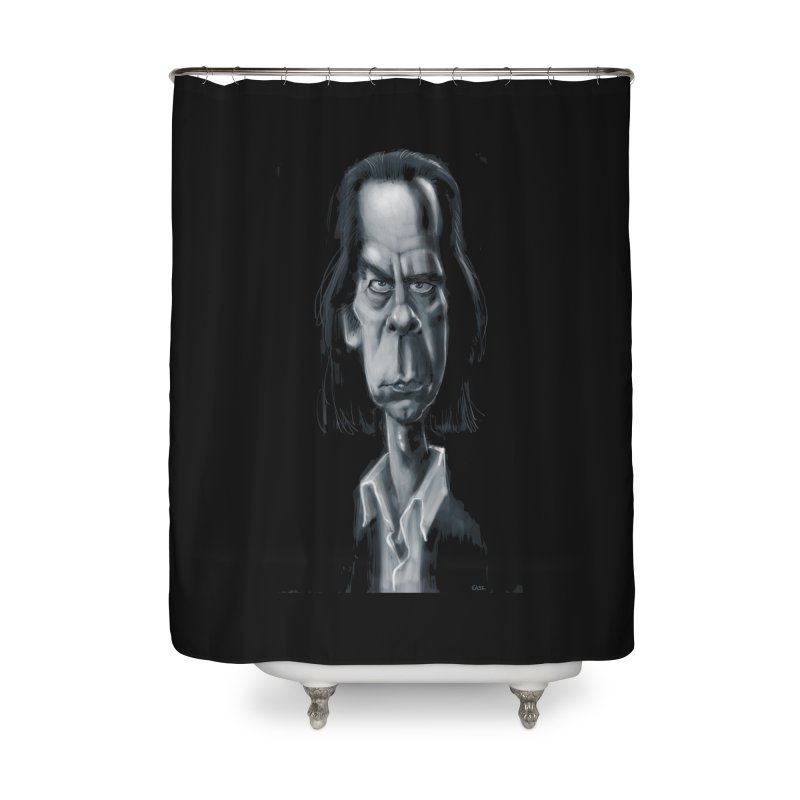 Nick Cave Home Shower Curtain by stephencase's Artist Shop