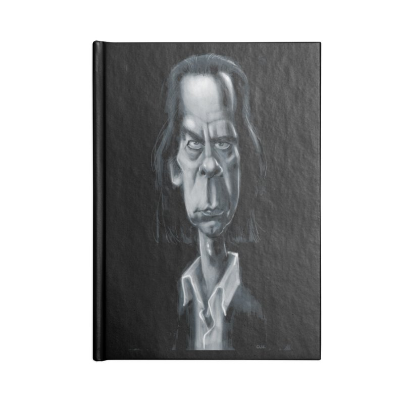 Nick Cave Accessories Notebook by stephencase's Artist Shop