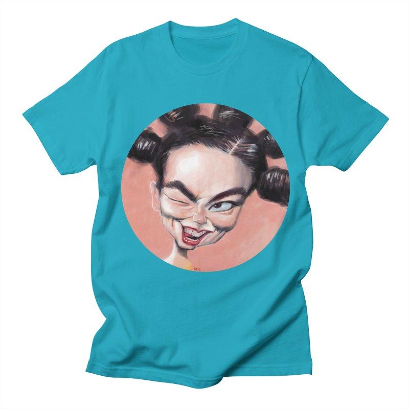 Bjork Men's T-Shirt by stephencase's Artist Shop