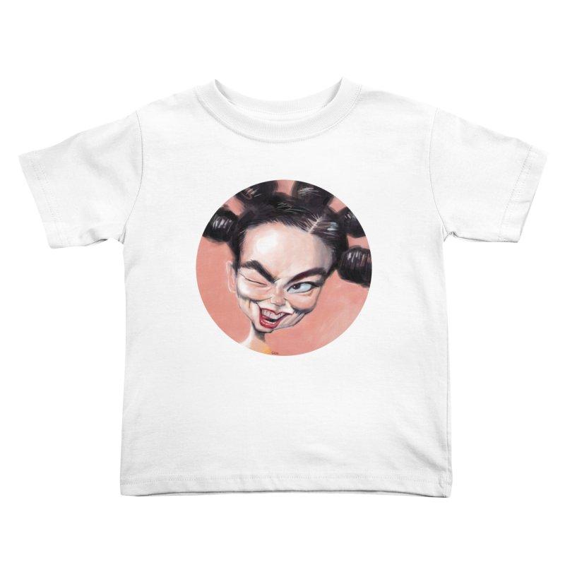 Bjork Kids Toddler T-Shirt by stephencase's Artist Shop