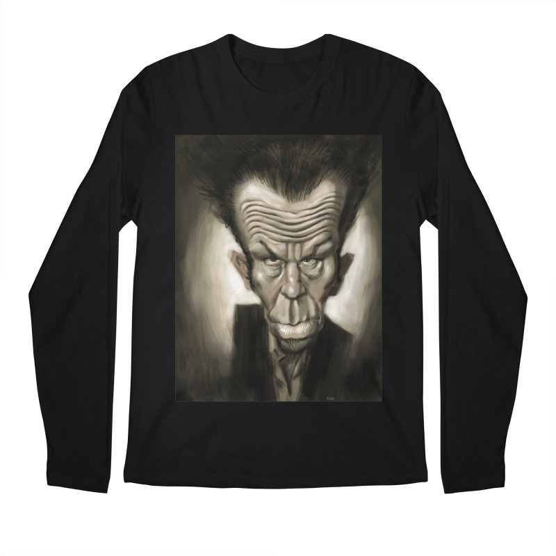 Tom Waits Men's Longsleeve T-Shirt by stephencase's Artist Shop