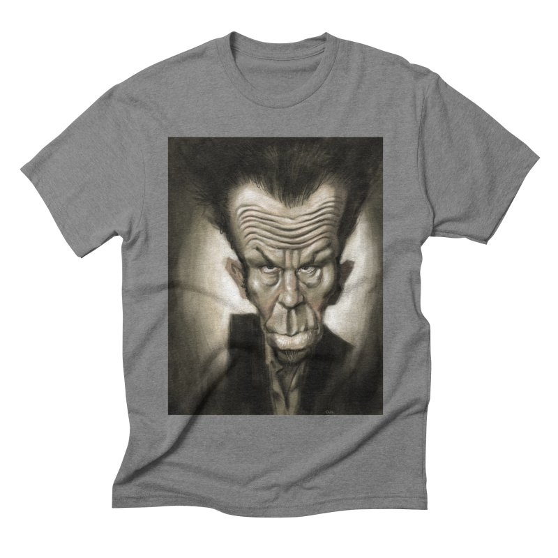 Tom Waits Men's Triblend T-Shirt by stephencase's Artist Shop