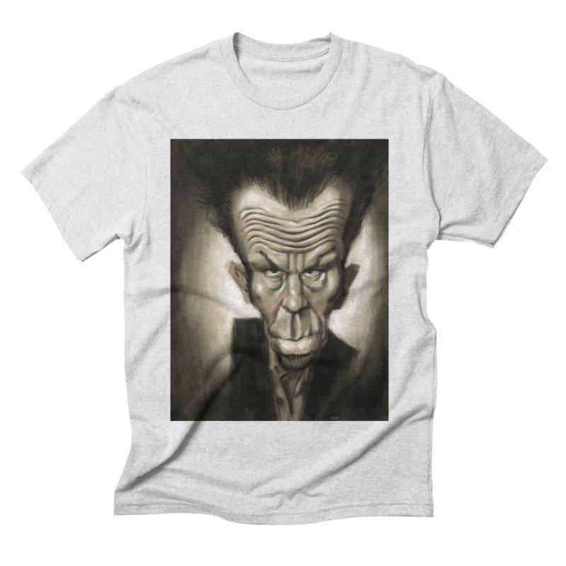 Tom Waits Men's Triblend T-shirt by stephencase's Artist Shop