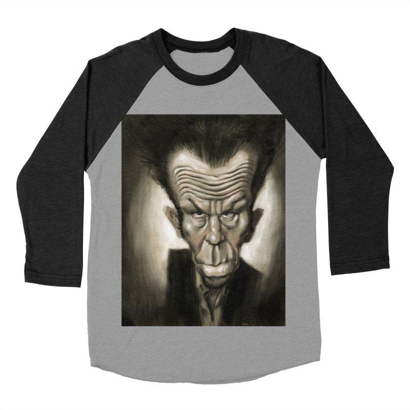 Tom Waits Women's Baseball Triblend T-Shirt by stephencase's Artist Shop