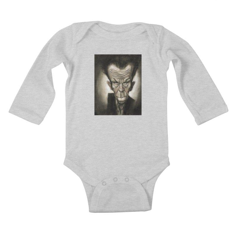 Tom Waits Kids Baby Longsleeve Bodysuit by stephencase's Artist Shop