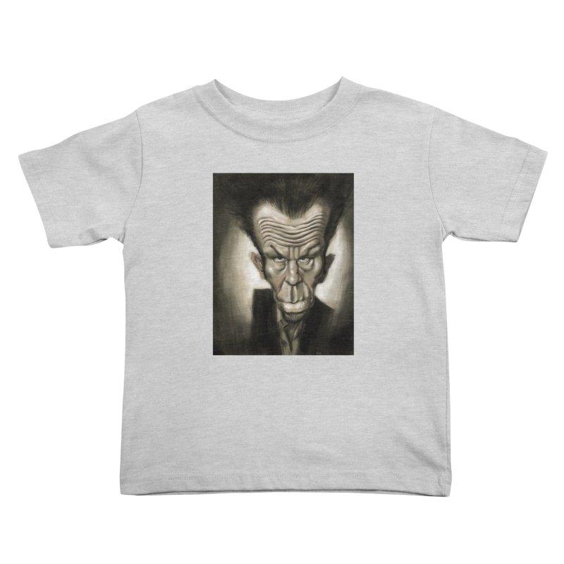 Tom Waits Kids Toddler T-Shirt by stephencase's Artist Shop