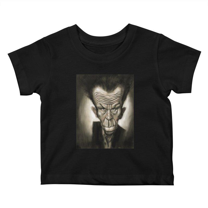 Tom Waits Kids Baby T-Shirt by stephencase's Artist Shop
