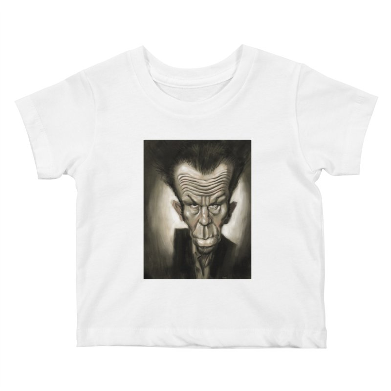Tom Waits Kids Baby T-Shirt by stephencase's Artist Shop