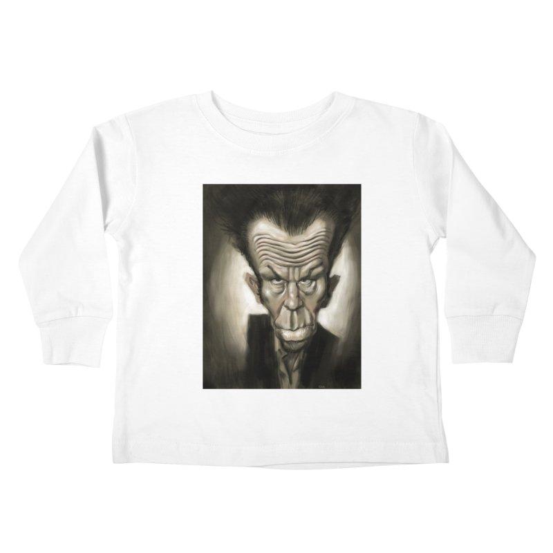 Tom Waits Kids Toddler Longsleeve T-Shirt by stephencase's Artist Shop