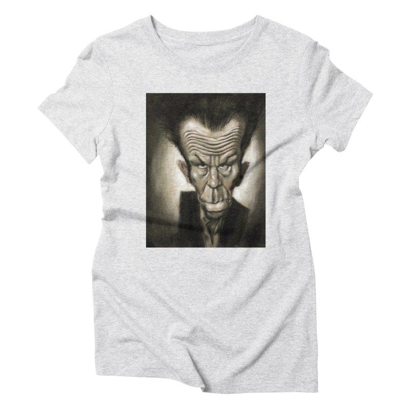 Tom Waits Women's Triblend T-shirt by stephencase's Artist Shop