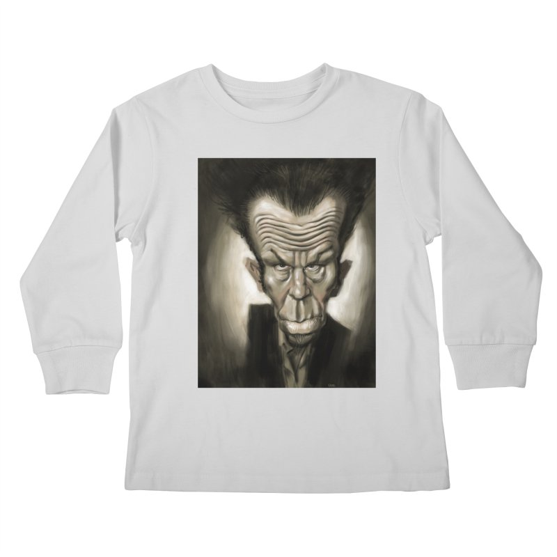 Tom Waits Kids Longsleeve T-Shirt by stephencase's Artist Shop